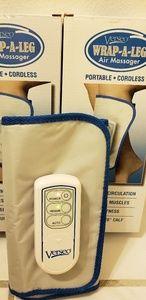 2 Cordless Air Pressure Leg Massagers